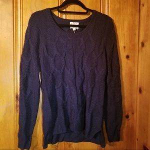 Hippie Rose Sweater, Color- Tapestry Blue- Large